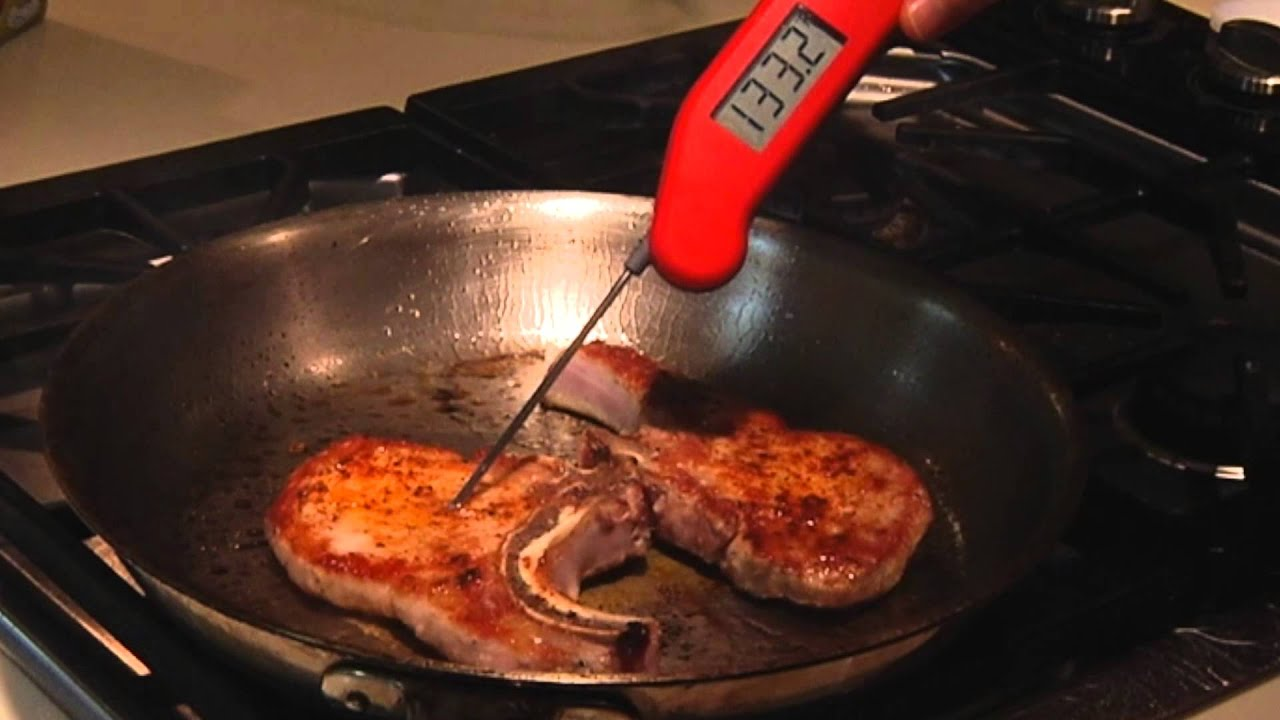 How To Cook The Perfect Pork Chop  Cooking Light