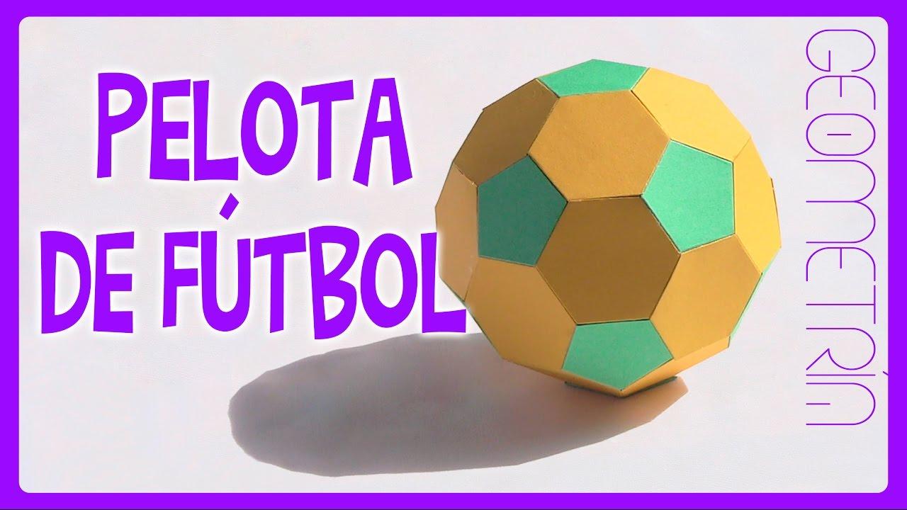 Como Hacer Un Balón De Futbol Paso A Pasohow To Make A Soccer Ball