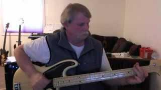 Grand Funk Railroad - Were an American Band - Bass Cover