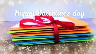 Valentines Day Card // Easy 14 Cards For Valentine Week