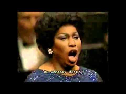 "Leontyne Price interpreta: ""La Forza del destino"" de G.Verdi"