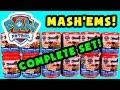 ★Paw Patrol Mashems★ NEW Complete Set Paw Patrol Mashem (Fashem) Blind Capsules Opening - KTR