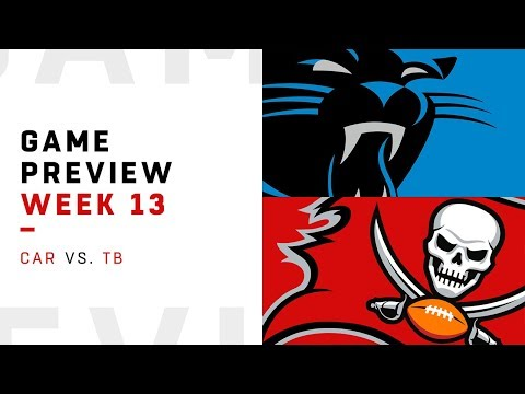 Carolina Panthers vs. Tampa Bay Buccaneers | Week 13 Game Preview | NFL Playbook