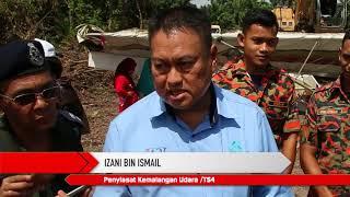 Operasi Khas Mengeluarkan Bangkai Pesawat Ringan GT500 Di Sungai Kesang, Melaka