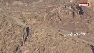 مشهد لكمين نوعي بدورية سعودية في جيزان 08-03-2018
