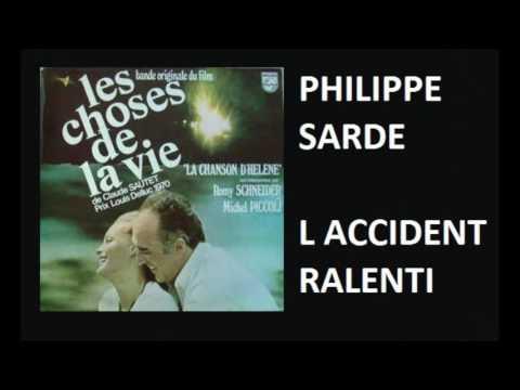 PHILIPPE SARDE - L ACCIDENT RALENTI - SOUNDTRACK 1970