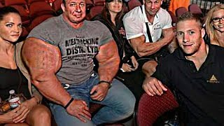 Real Life Giant Markus Ruhl | Biggest Bodybuilder Ever Training & In Public
