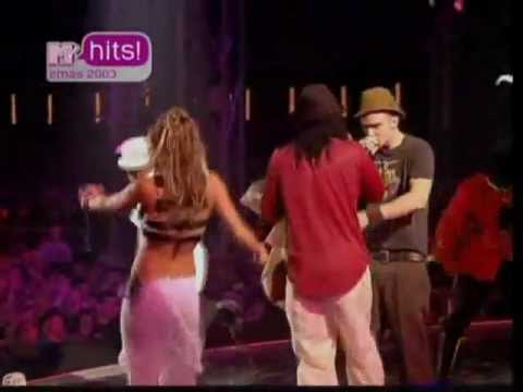 The Black Eyed Peas ft. Justin Timberlake - Shut up & Where is the Love & Freestyle [EMAs 2003]