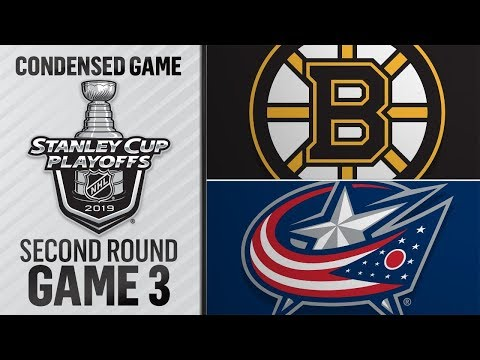 04/30/19 Second Round, Gm3: Bruins @ Blue Jackets