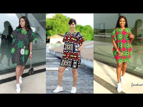 Download DIY: HOW TO MAKE BUBU KIMONO DRESS | DANSHIKI DRESS | SHORT ANKARA DRESS WITH POCKETS