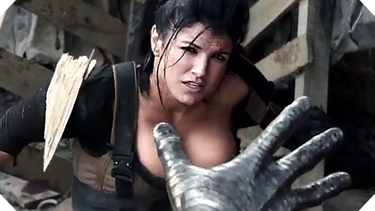 DEADPOOL - Colossus VS Gina Carano CLIP - YouTube