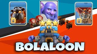 BoLaLoon TH112 Attack Strategy 2019! TH12vsTH12 3star | Clash Of Clans