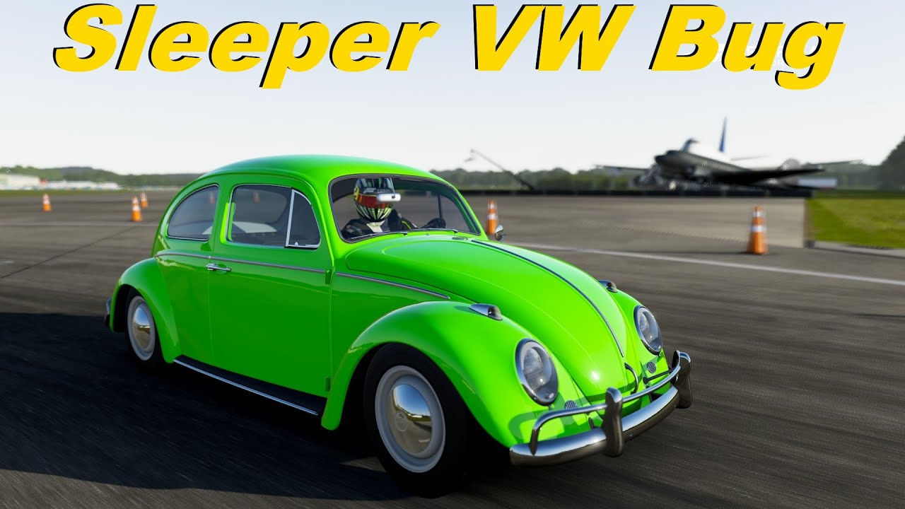 Vw Beetle Test >> Forza 6 | Mighty Car Mods Sleeper VW Bug on Top Gear Test Track - YouTube