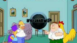 simpsons vs family guy