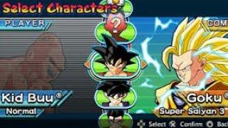 Dragon Ball Z Shin Budokai 2 como transformar Goku em super saiajin e mais...