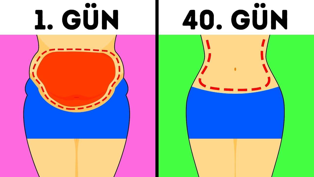 Belinizi İncelten ve Göbek Yağını Eriten 9 Egzersiz