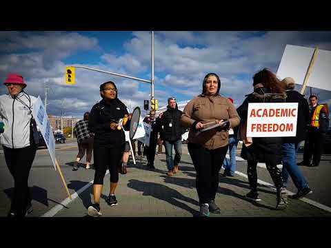 Algonquin College - Faculty Strike Oct 2017
