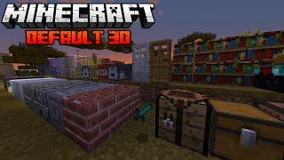 Default 3D - Textura original do Minecraft em 3D, A MELHOR TEXTURA DE TODAS!
