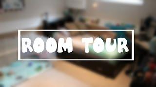 OCEAN THEMED ROOM TOUR!
