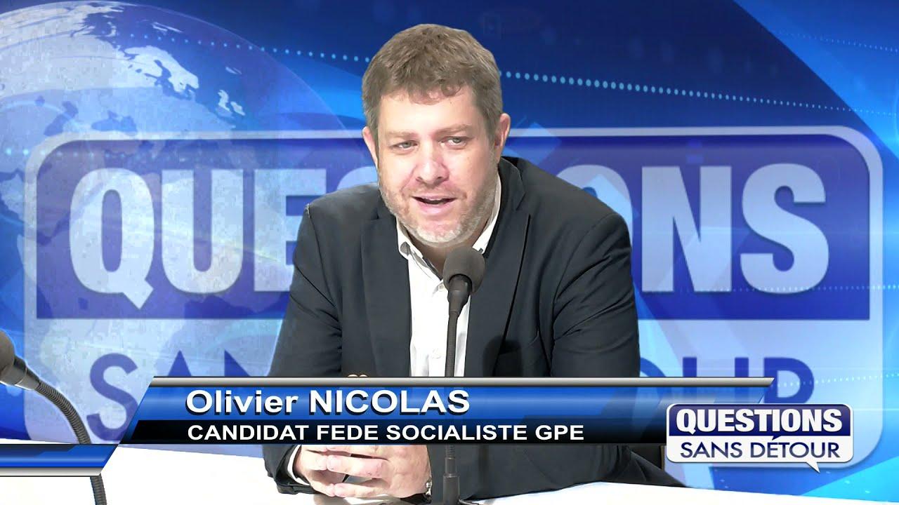 Olivier NICOLAS  - Candidat Fédération Socialiste de Guadeloupe est l'invité dans QSD sur ETV