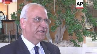 Saeb Erekat condemns Israeli settler bill