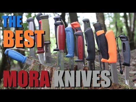 The Best Mora Knives: Affordable Fixed Blades for the Outdoors, Camping, Hiking, & Survival