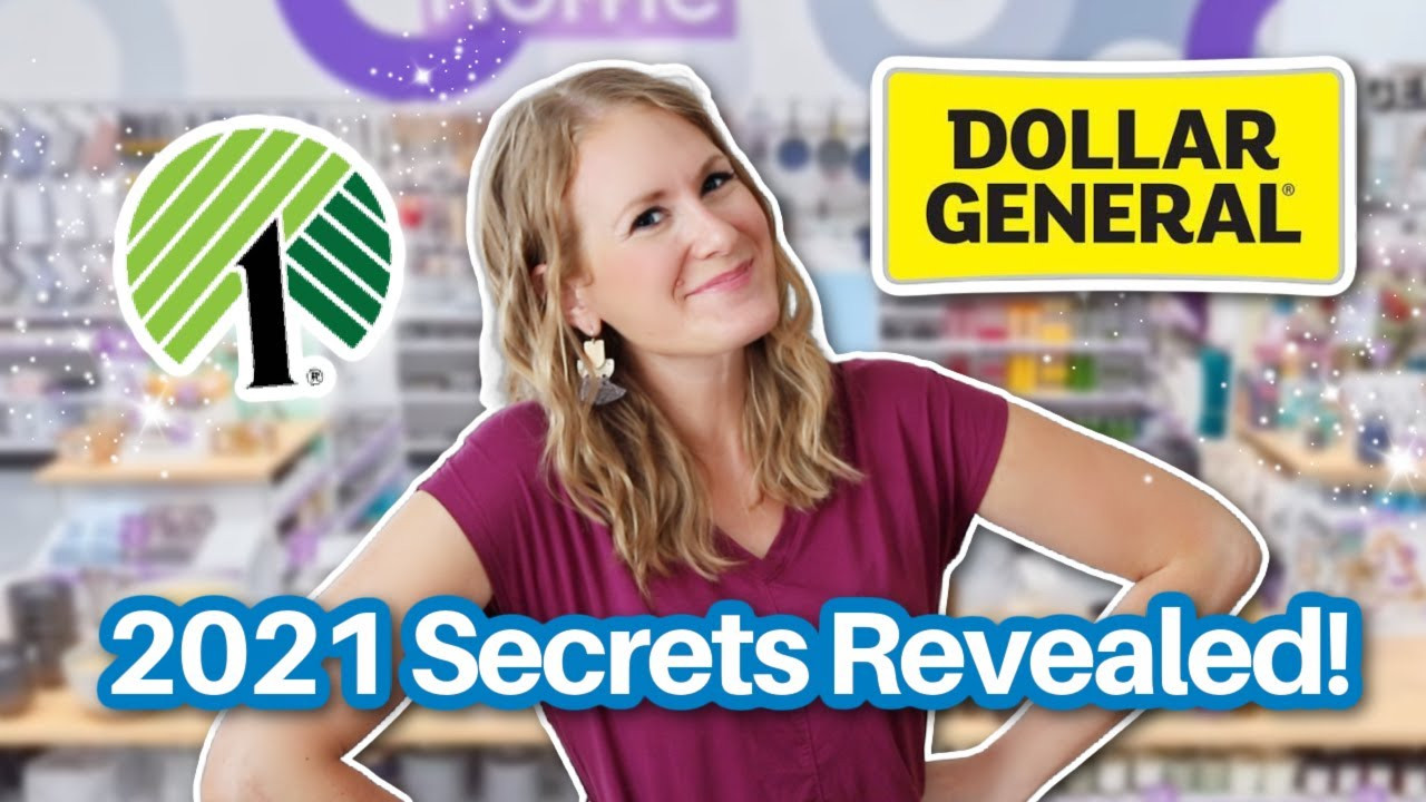 INSIDER DOLLAR STORE SECRETS 2021 from a pro! 💙 I changed my shopping game and you can, too!