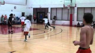 alonzo verge jr highlights mvp dee brown guard camp presented by hoops4health