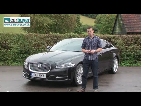 Jaguar XJ saloon review - CarBuyer