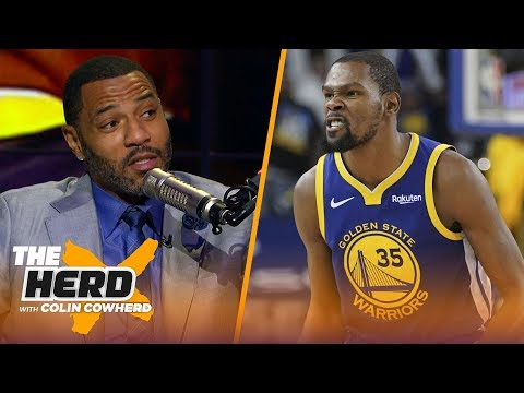 Kenyon Martin says KD should've addressed Draymond's 'very disrespectful' behavior | NBA | THE HERD