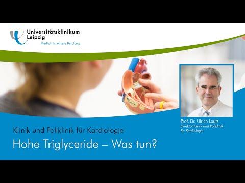 Hohe Triglyceride –