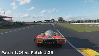 Gran Turismo Sport - Patch 1.24 vs 1.25 - Mazda 787B Idle Sound Comparison