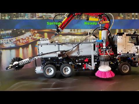 Spring Ready Lego Technic 42043 Mercedes-Benz Arocs 3245 MOD#10 ...