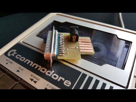 Commodore 64 C64S Tape Adapter