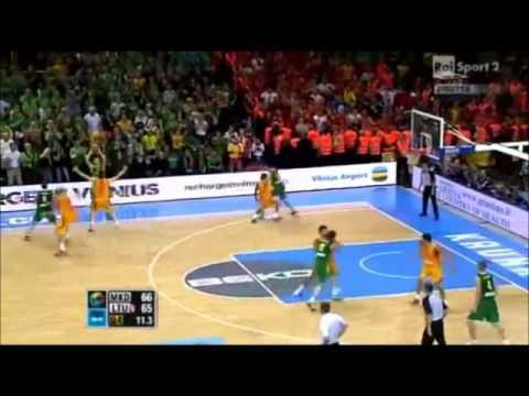 Lithuania vs Macedonia Eurobasket 2011 - Requiem for a Basketball