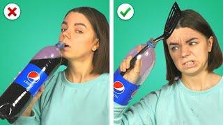 HUNGRY For FOOD HACKS! 10 Funny Food Tricks &amp Fun DIY Ideas