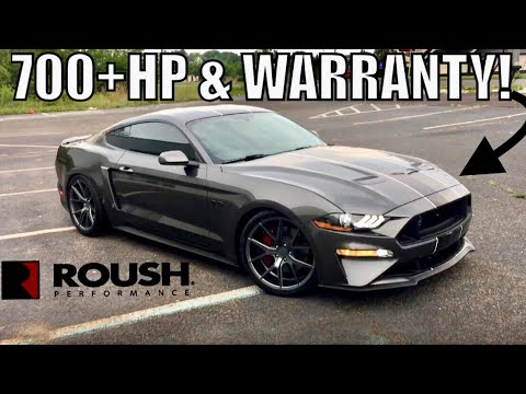 $40K + 700HP + WARRANTY! 2018-19 ROUSH MUSTANG GT...too good to be true!?!?!