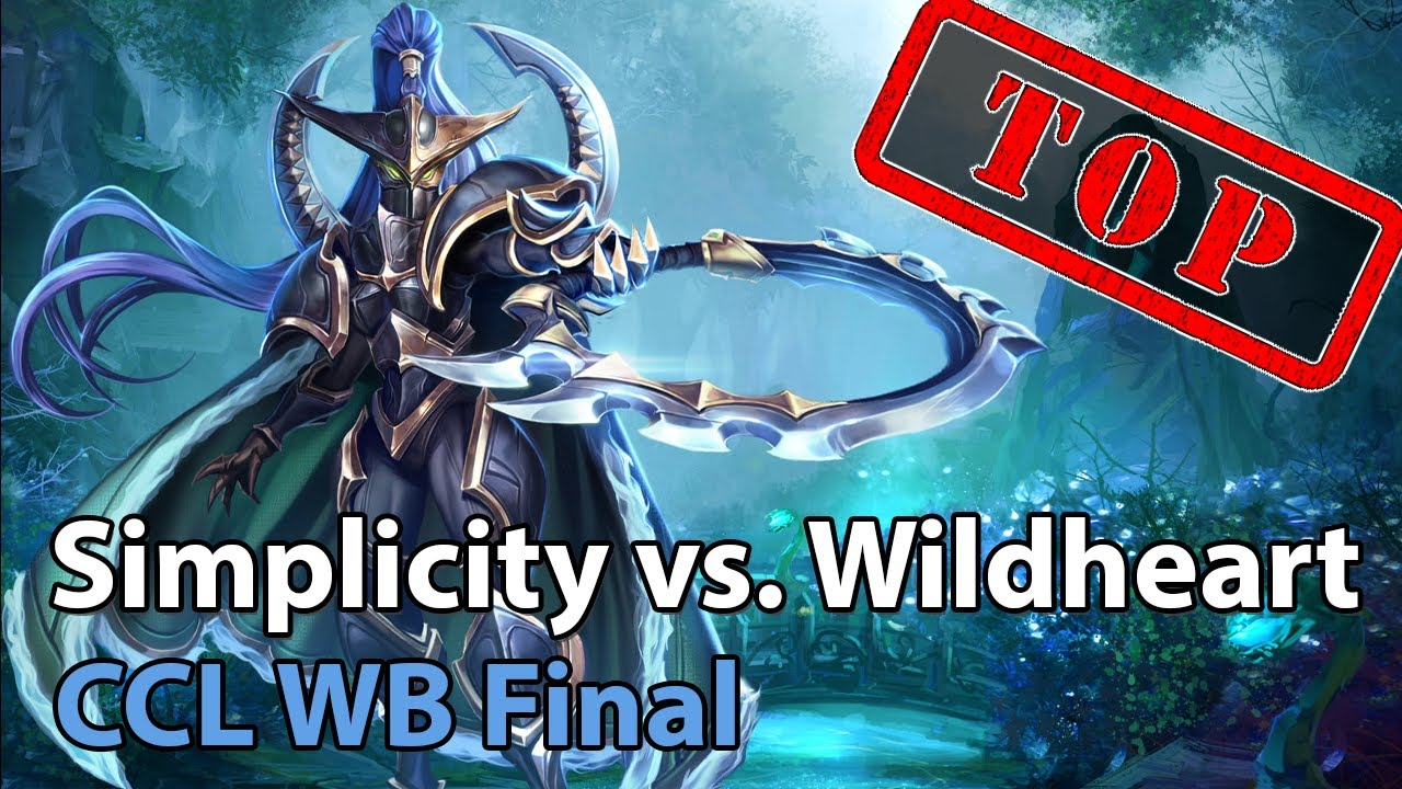 Winner Bracket Final: Simplicity vs. Wildheart Heroes of the Storm