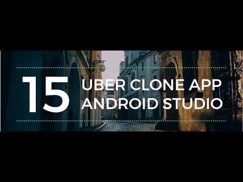 Create a car booking Uber clone app in Android Studio Part 15 (Place Autocomplete)
