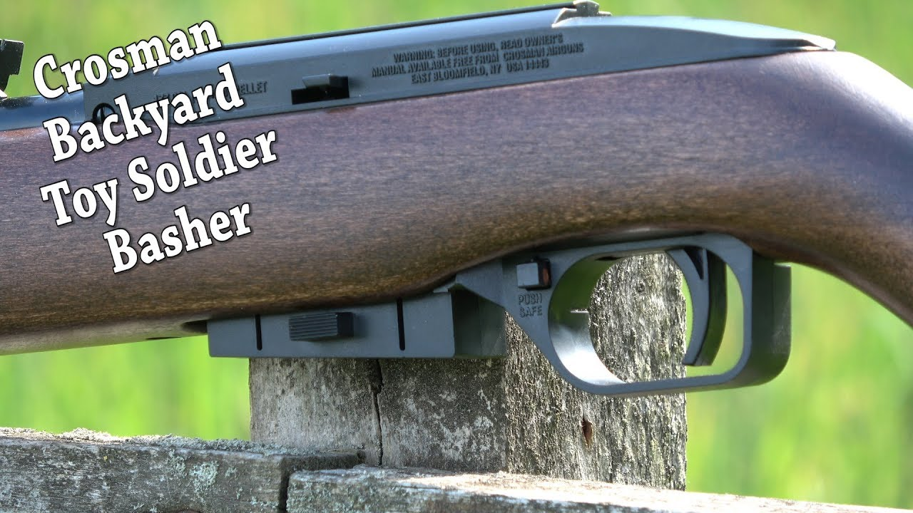 REVIEW: Crosman 1077 W Airgun - CO2 Semi Auto - Backyard Plinker