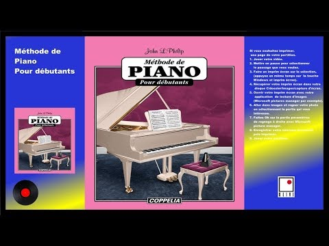 PARTITIONS - MÉTHODE DE PIANO POUR DÉBUTANTS  - COPPELIA OLIVI