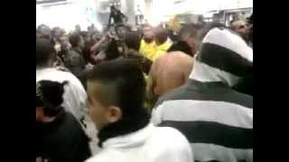 "Malha Mall, Jerusalem Racist mob chants ""Death to the Arabs"" 19 March 2012"