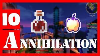 Minecraft - Annihilation #10 OP rush s enchantovaným ovocem