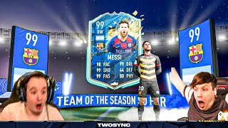 OMG I PACKED TOTS 99 MESSI WHAT!!! - FIFA 20 ULTIMATE TEAM PACK OPENING
