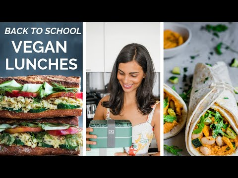 FUN VEGAN LUNCH IDEAS FOR BACK TO SCHOOL (or work)!
