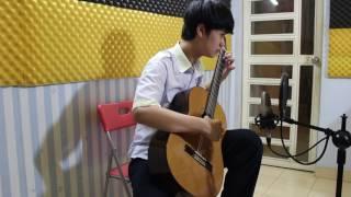 Lớp Học Đàn Guitar Nguyễn Bảo Chương - A Comme Amour (Guitar Solo)