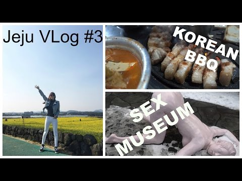Jeju VLog #3 | Sex Museum | Touristic Locations in Jeju