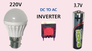 How to make 3v DC to 220v AC mini inverter.