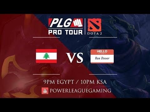 PLG Pro Tour with DOTA 2 | Winners Round 2 | [LEB] Team Lebanon vs [EGY] Bendover
