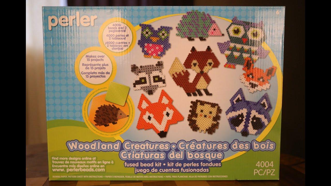 4004 pcs Perler Beads Woodland Creatures Animal Pattern Crafts for Kids